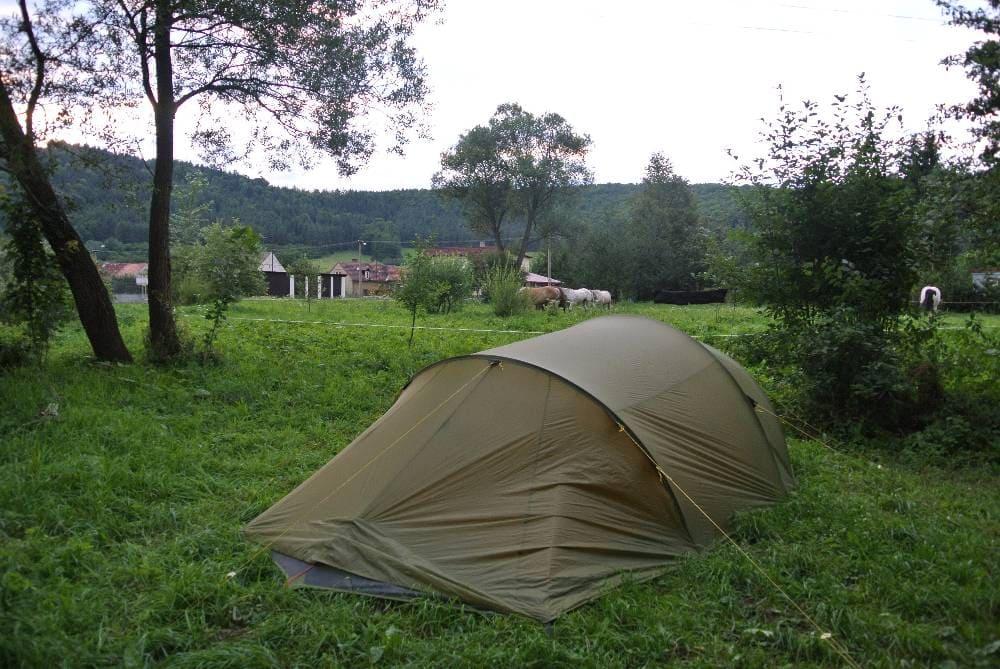 De Prague à Strasbourg : Journée au camping