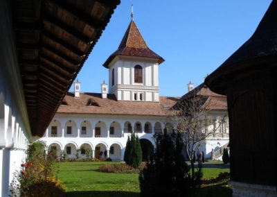 Monastere en Bucovine